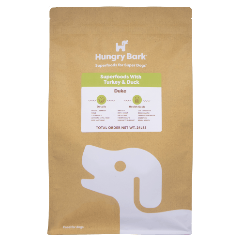Hungry Pet - Superfoods with Turkey & Duck (4 Week Custom Meal Plan) T1