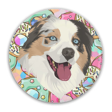 Custom Pet Print Pin-Back Buttons