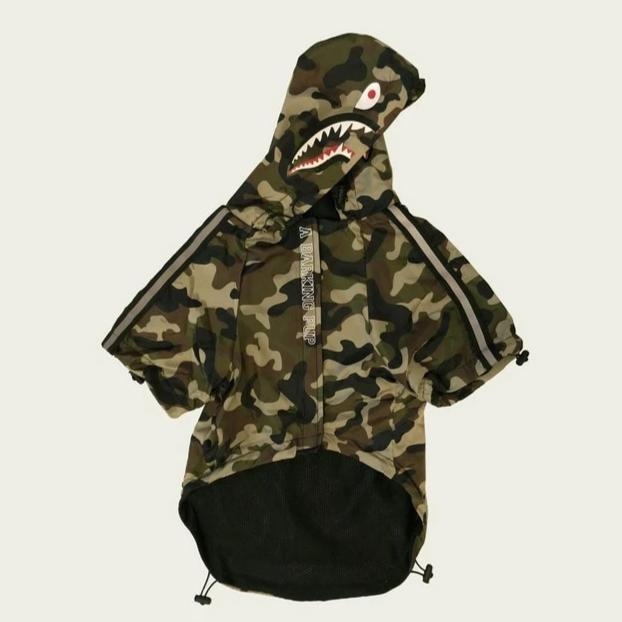 Shark Camouflage Dog Coat