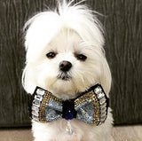 Fancy dog bow tie