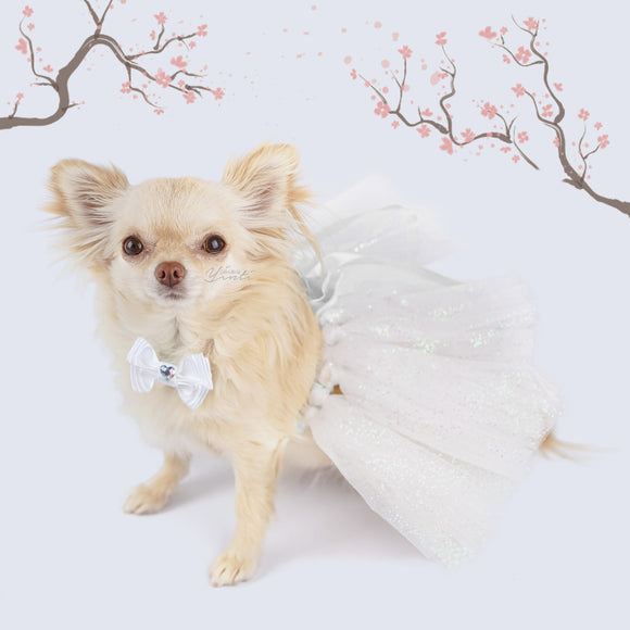 Sakura Love  dog tutu