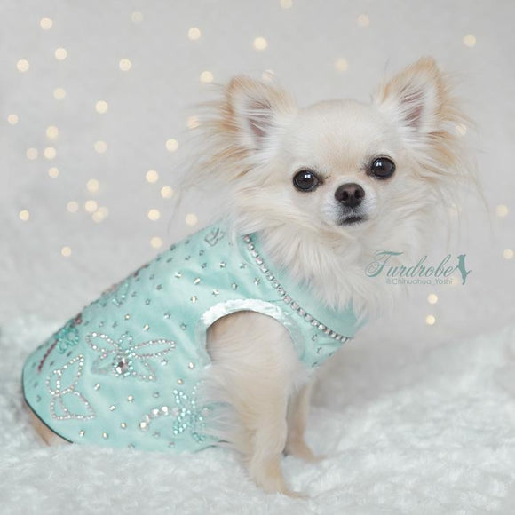 Tiffany Dreams Silk Dog Jacket