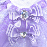 Sakura Tutu in lilac with Swarovski Crystal heart clip