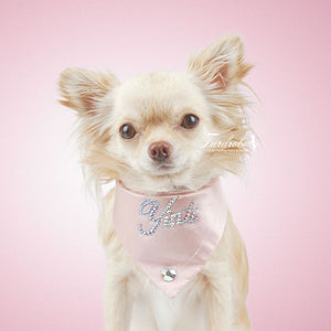 Small Pink Dog Bandana