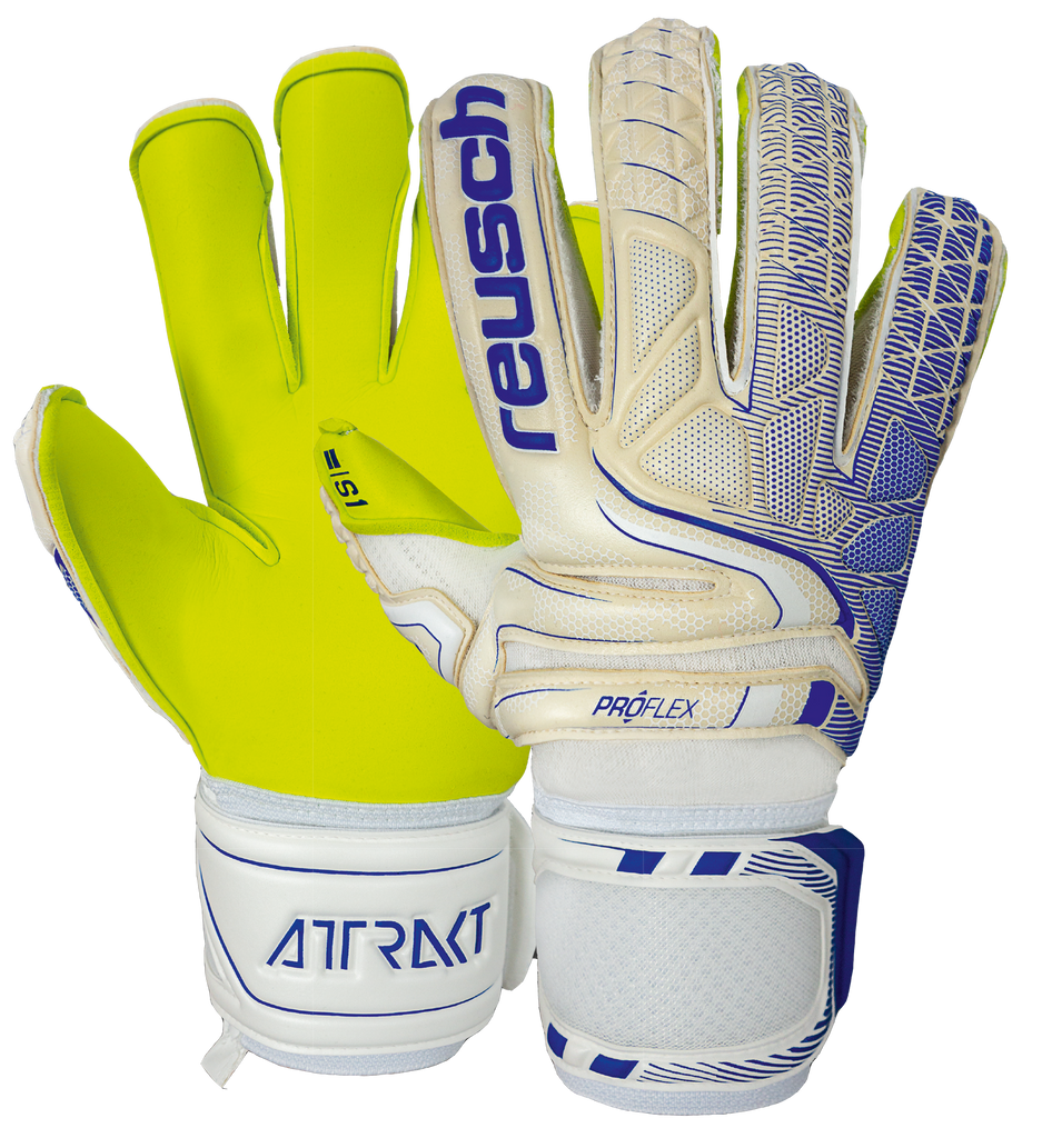 50 70 138 - Reusch Attrakt S1 Evolution Finger-Support - ReuschSoccer
