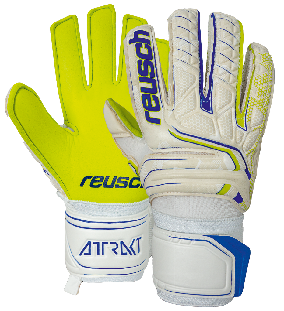 50 72 130 - Reusch Attrakt S1 Finger Support™ Junior - ReuschSoccer