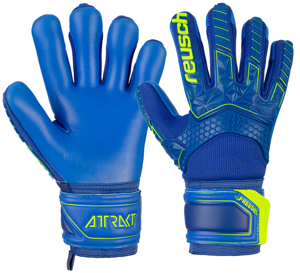 50 72 238 REUSCH ATTRAKT FREEGEL™ S1 FINGER SUPPORT™ JUNIOR - ReuschSoccer