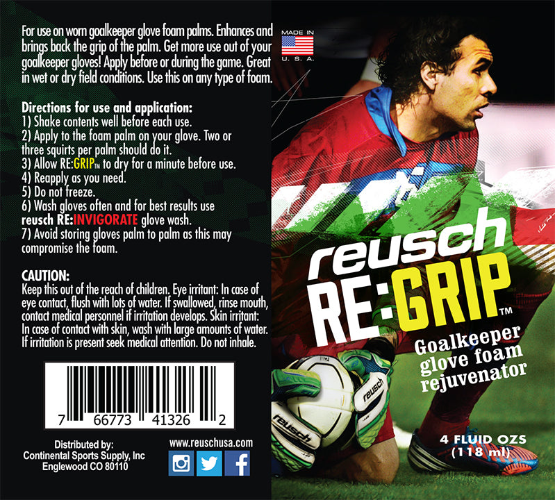 RE:INVIGORATE Glove Wash and RE:GRIP Glove Rejuvenator - 35 90 200 - ReuschSoccer