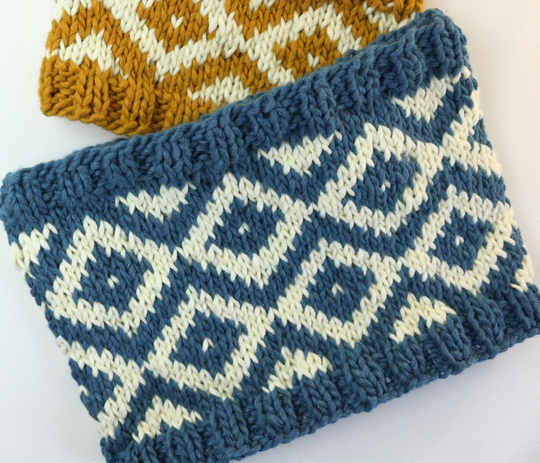 kit Cuello fair isle