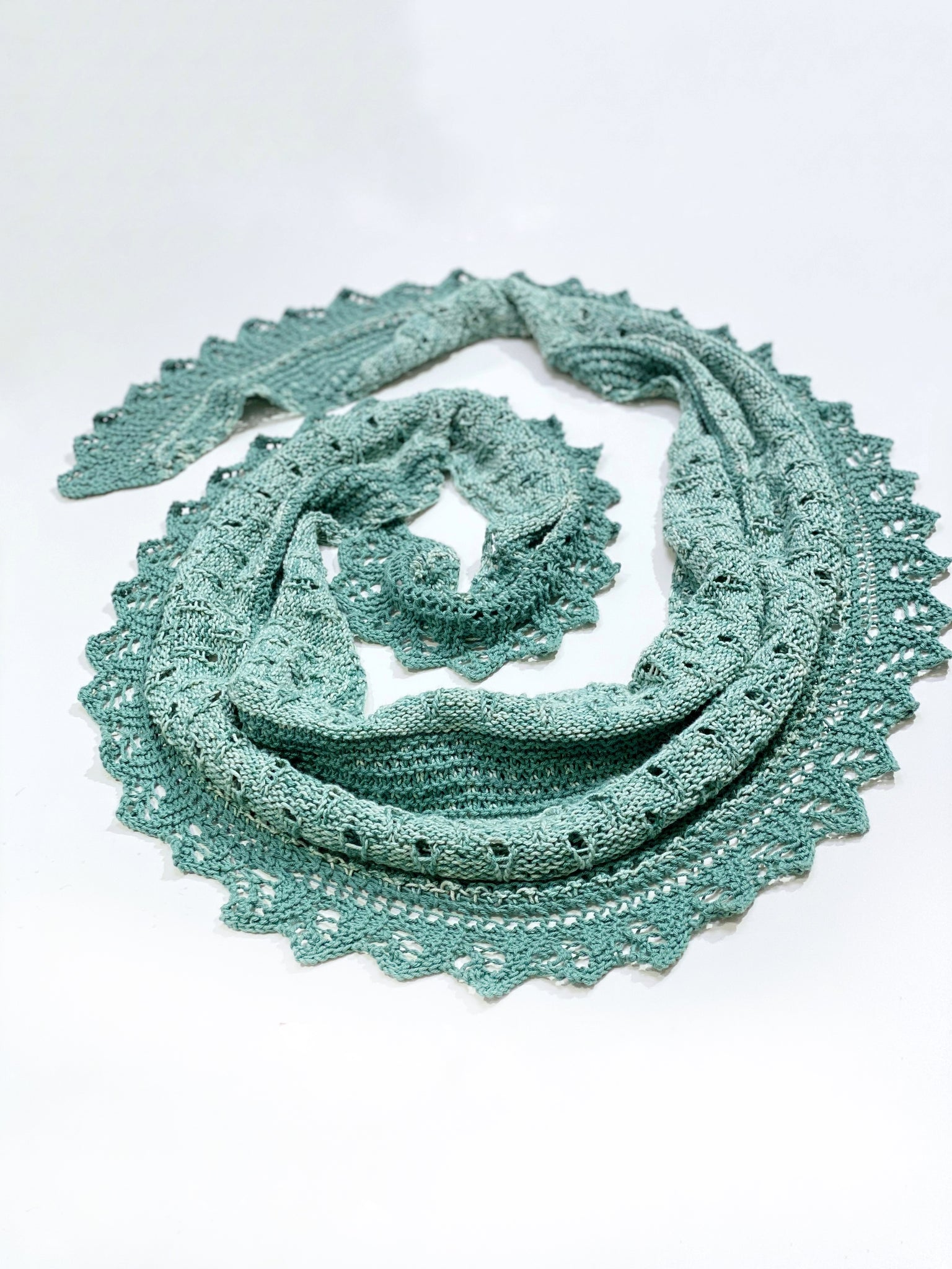 Kit Earth Shawl