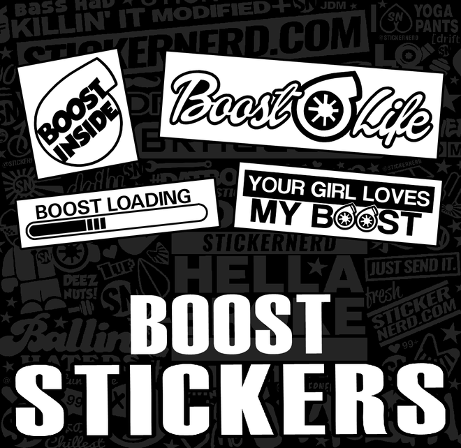 BOOST STICKERS