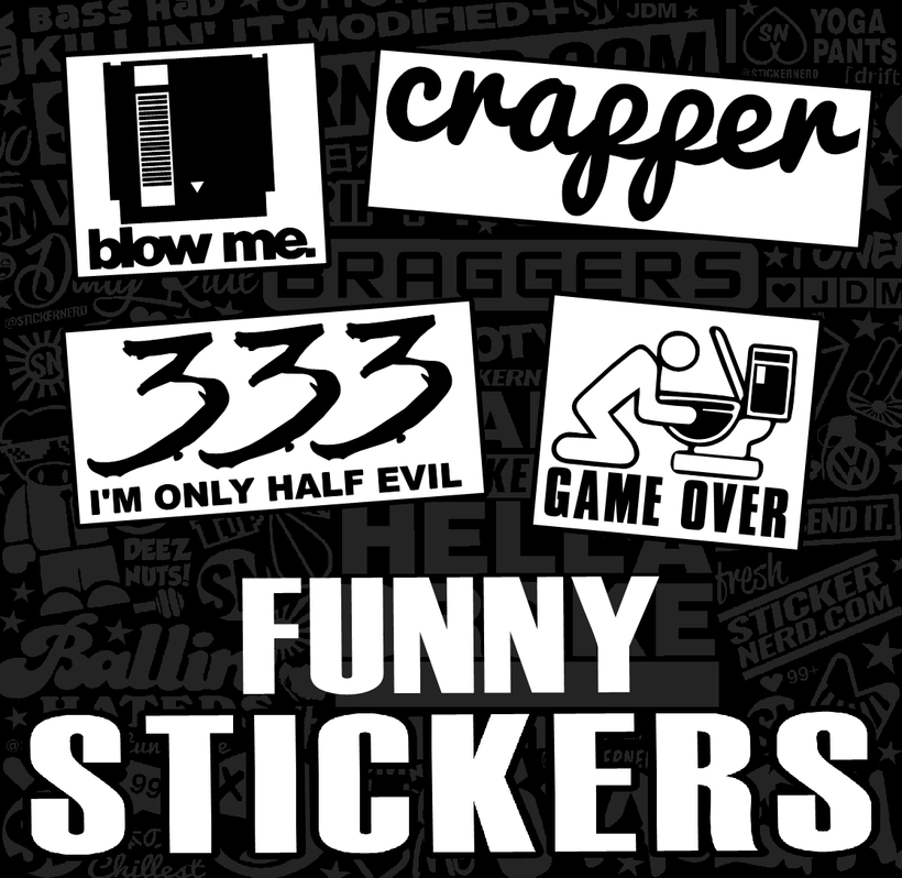 FUNNY STICKERS
