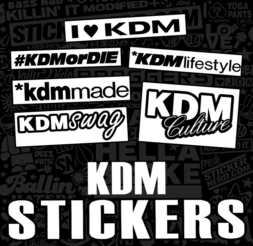 KDM STICKERS
