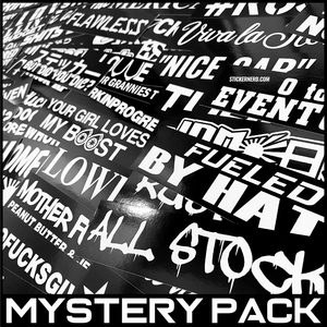 10pc Mystery Pack - STICKERNERD.COM
