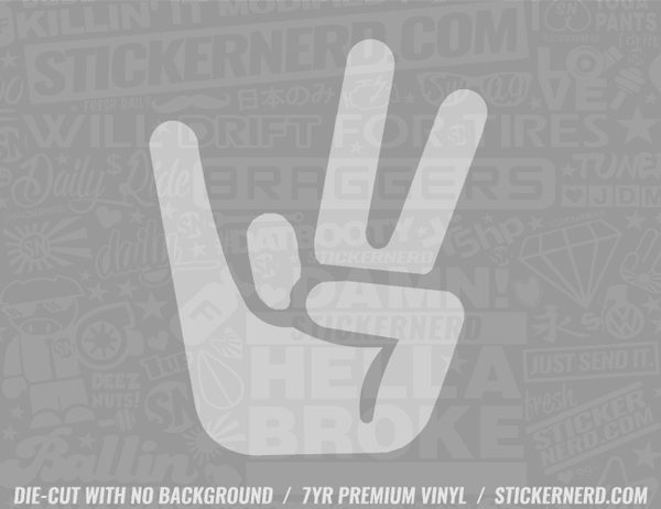 Shocker Sticker - Window Decal - STICKERNERD.COM