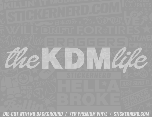 The KDM Life Sticker