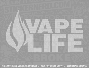 Vape Life Sticker