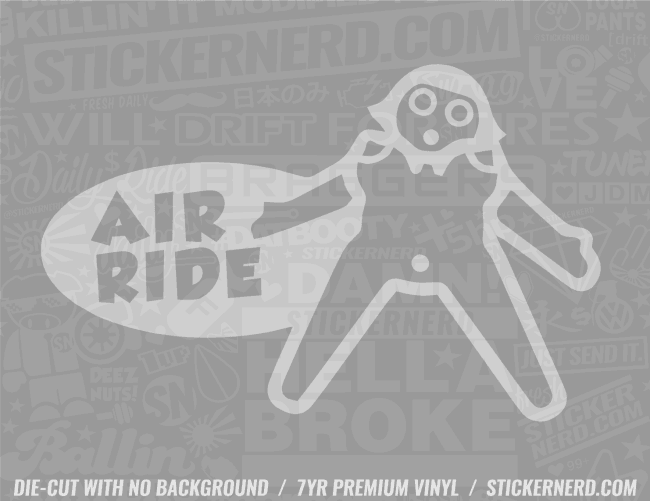 Air Ride Blowup Doll Sticker