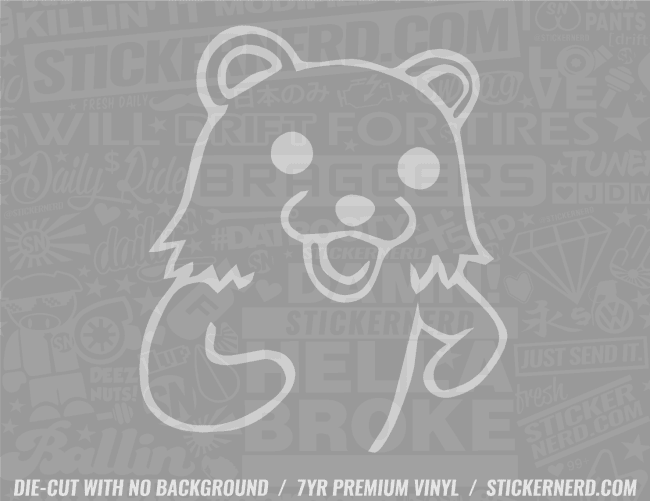 Bear Sticker - Window Decal - STICKERNERD.COM