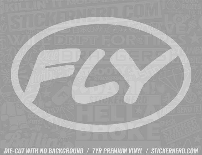 Fly Sticker - Window Decal - STICKERNERD.COM