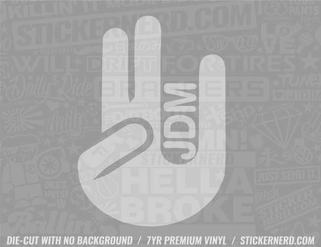 Shocker JDM Sticker - Window Decal - STICKERNERD.COM