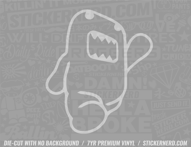 JDM Mascot Sticker - Window Decal - STICKERNERD.COM