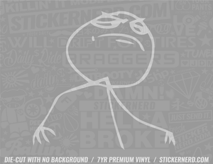 Fuck Yeah Meme Sticker #7958 - STICKERNERD.COM