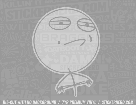 Challenge Accepted Meme Sticker #8085 - STICKERNERD.COM