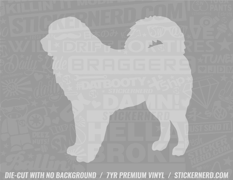 Tibetan Mastiff Dog Sticker