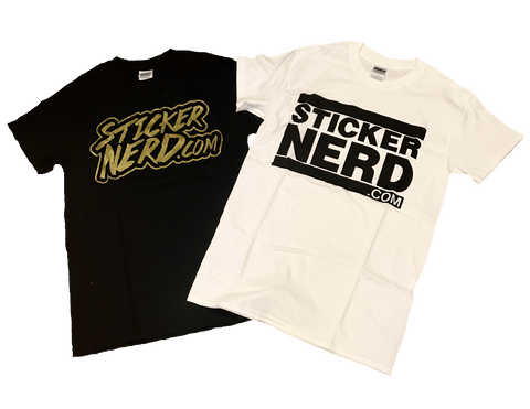 StickerNerd Shirt - Window Decal - STICKERNERD.COM