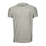 Adonyx Athletic Sideseam Tee - Light Grey