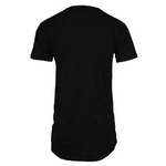 Adonyx Elongated Tee - Black