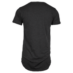Adonyx Elongated Tee - Dark Grey