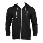 Adonyx Zip Up Hoodie - Dark Grey