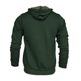 Adonyx Zip Up Hoodie - Forest Green