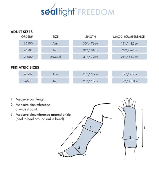 SEAL-TIGHT® FREEDOM - Child (Price includes GST and Shipping)
