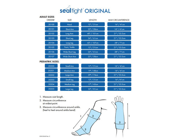 SEAL-TIGHT® ORIGINAL - Adult Arm (Price includes GST and Shipping)
