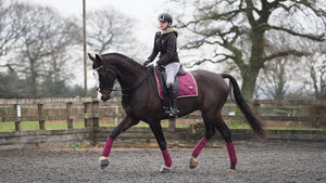 Dressage starlet Daisy Douglass gives us her lowdown on the Merlot Monogram set from PS of Sweden