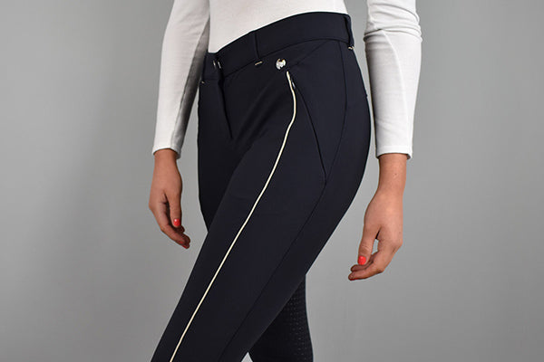 HV Polo Madonna Breeches in Navy