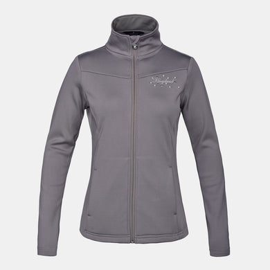 Kingsland Jenny Ladies Fleece Jacket - Beige Rock Ridge