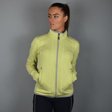 Cavallo Kadisha Zipped Jumper in Lime