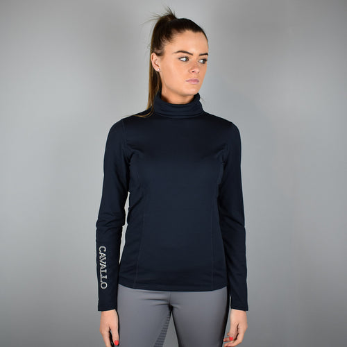 Cavallo Lynette Technical Turtleneck in Dark Blue