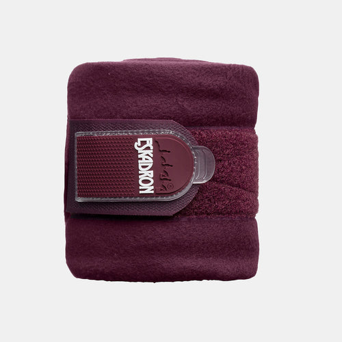 Eskadron Basic Fleece Bandages in Blackberry