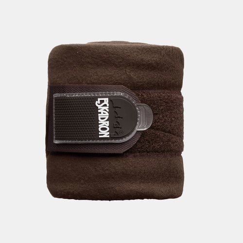 Eskadron Basic Fleece Bandages in Dark Brown
