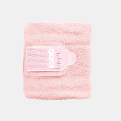 Eskadron Basic Fleece Bandages in Powder Rose