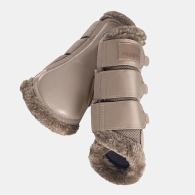 Eskadron Classic Mesh Brushing Boots - Tender Taupe