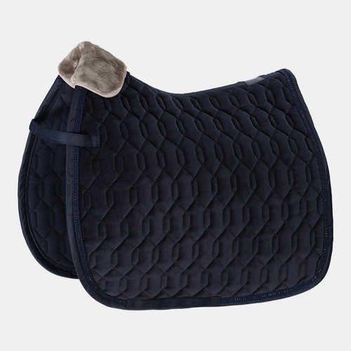 Eskadron Classic Sports Velvet Saddlepad - Navy