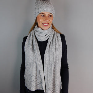 HV Polo Breeze Scarf in Grey