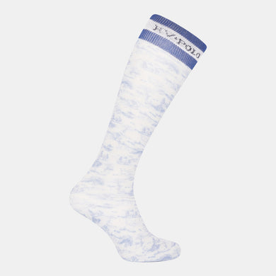 HV Polo Juliette Glitter Socks - White