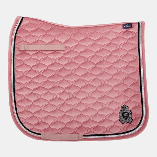 HV Polo Noëlle Dressage Saddlepad in Dusty Rose